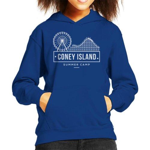 Coney Island Summer Camp Kid's Hooded Sweatshirt