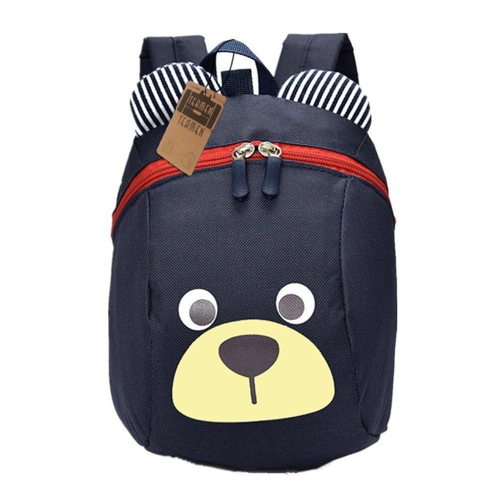dark red school bag