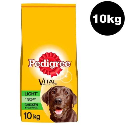 PEDIGREE Light Dog Complete Dry With Chicken & Vegetable 10kg