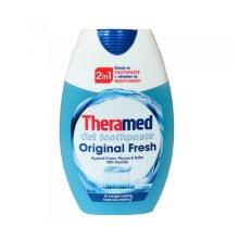 Theramed 2in1 Toothpaste & Mouthrinse Original Fresh Gel Toothpaste 75ml