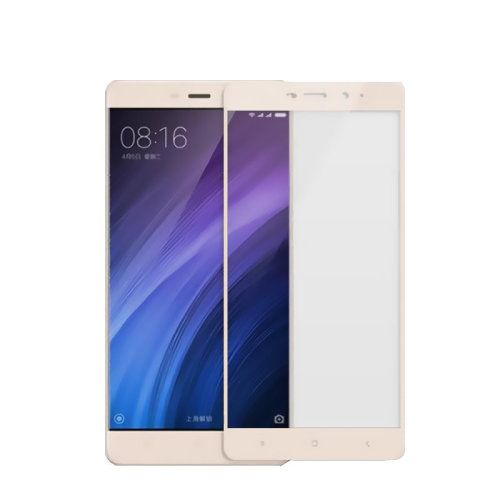 Full Cover 3D Tempered Glass Screen Protector for Xiaomi Redmi 4 Prime