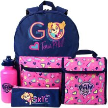 Paw Patrol Girls Backpack Set (Pack Of 4)