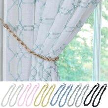 Pair Of Rope Curtain Tiebacks Holdbacks Tie Backs Durable 6 Colors Length 60cm