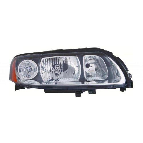 Volvo Xc70 Mk1 5/2005-2007 Headlight Headlamp Grey Surround Drivers Side O/s