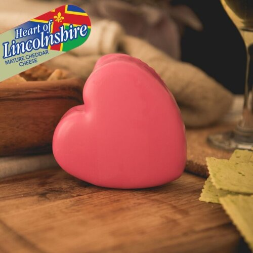 """""""Heart of Lincolnshire"""" Mature Cheddar (200g)"""