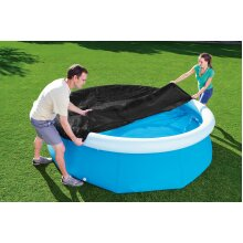 Bestway Fast Set Swimming Paddling Pool Tarpaulin Sheet Cover Protector - 8 Ft
