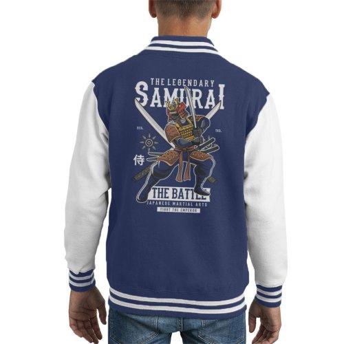 Legendary Samurai Battle Kid's Varsity Jacket