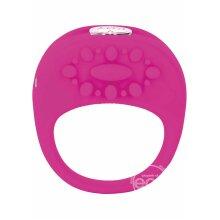 Key by Jopen Ela Rechargable Vibrating Ring - Pink