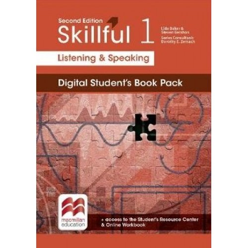 Skillful Second Edition Level 1 Listening and Speaking Digital Student's Book Premium Pack