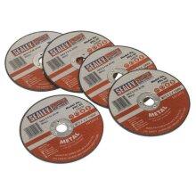Sealey PTC/3C5 Cutting Disc Ø75 x 2mm 10mm Bore Pack of 5