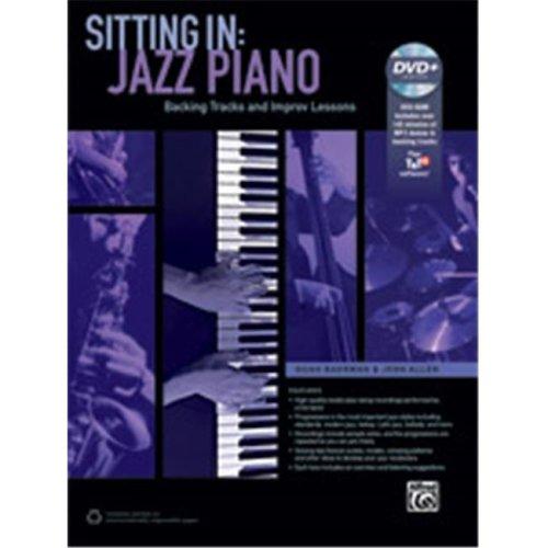 Alfred 00-42816 SITTING IN: JAZZ PIANO-BK&DVD ROM