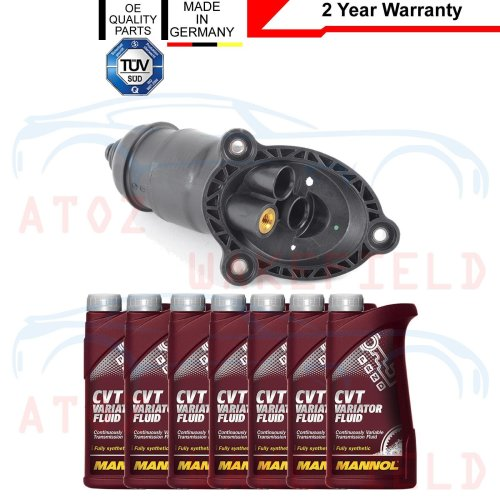 FOR AUDI A4 A5 A6 A7 CVT AUTOMATIC TRANSMISSION GEARBOX FILTER 7L OIL 0AW301516H