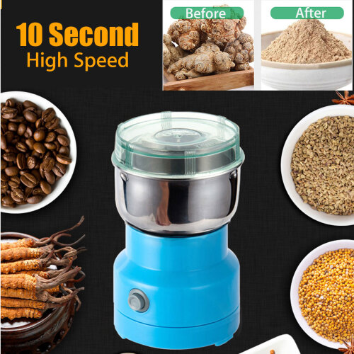 NEW Electric Spices Nuts Grains Coffee Bean Grinder Mill Grinding