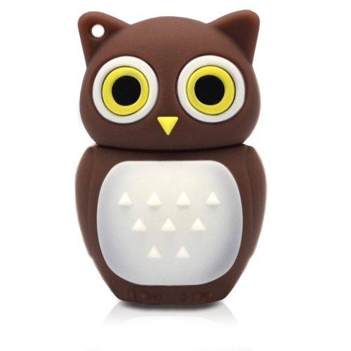 Brown Owl Usb Drive Memory Stick 16 Gb