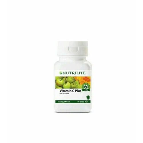 AMWAY Vitamin C Plus - Extended Release NUTRILITE ( 60 tabs)