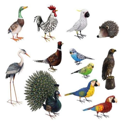Primus Deluxe Metal Animal / Bird Garden Ornament