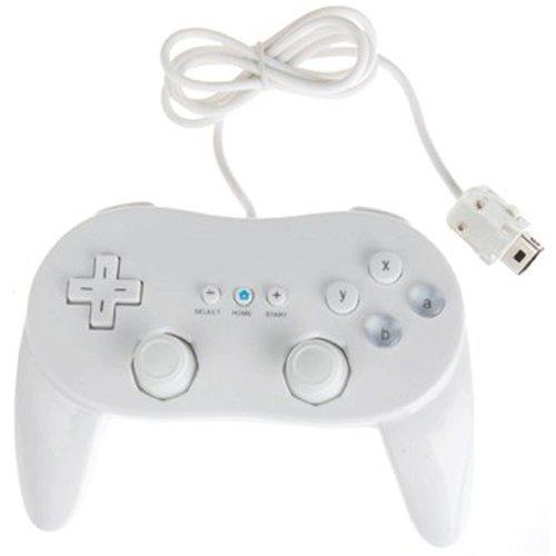 Controller for Nintendo Wii classic pro wireless remote joypad white ZedLabz