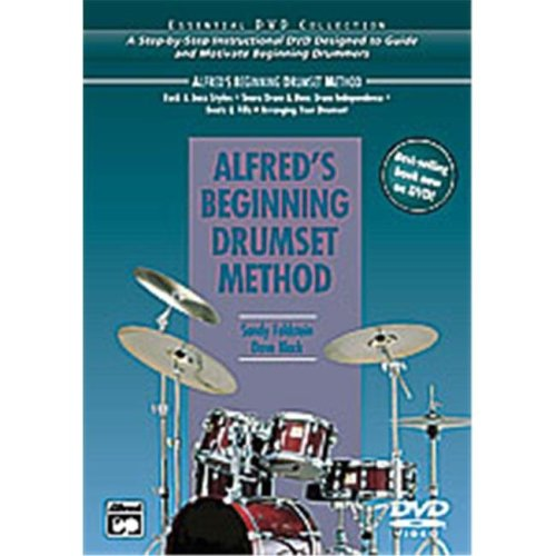 Alfred 00-23199 ALFREDS DRUMSET METHOD-DVD 5