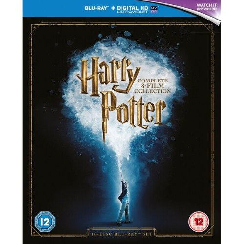 Harry Potter Complete Collection (8 Film) Boxset Blu-Ray [2016]