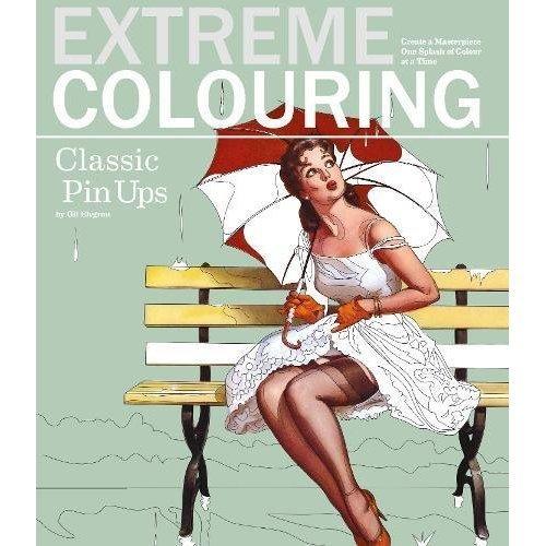 Extreme Colouring Pin Ups