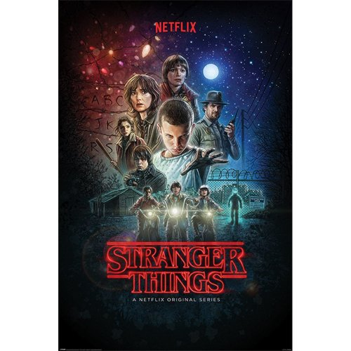 "Poster - Studio B - Stranger Things 1 - 1 Sheet 36x24"" Wall Art P6251"