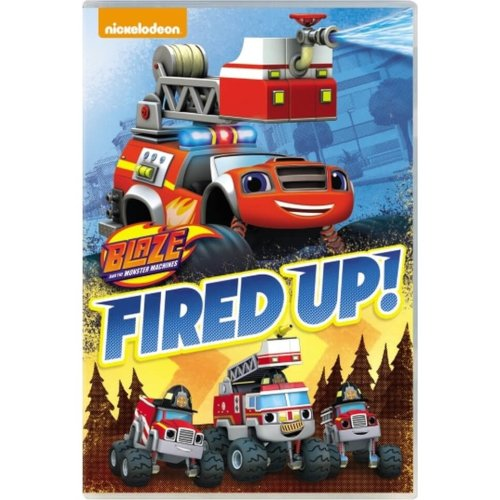 Blaze And The Monster Machines - Fired Up DVD [2017]