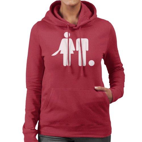 Anti Men Decapitated Man Women's Hooded Sweatshirt