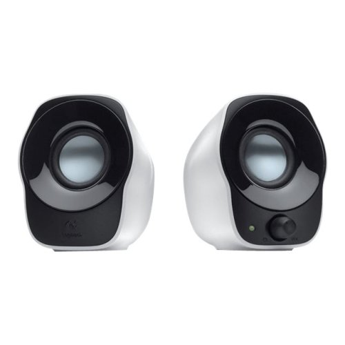 Logitech 980-000513 Stereo Speakers Z120 Cube Shaped Usb Powered 1.2W With 980-000513