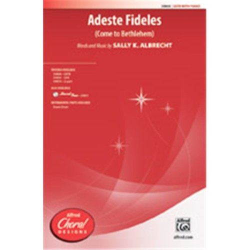 Alfred 00-39811 ADESTE FIDELES-STRX CD