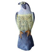 Falcon Pest Deterrent Lawn Garden Bird Scarer Decoy Repeller Pond Hawk Decoy