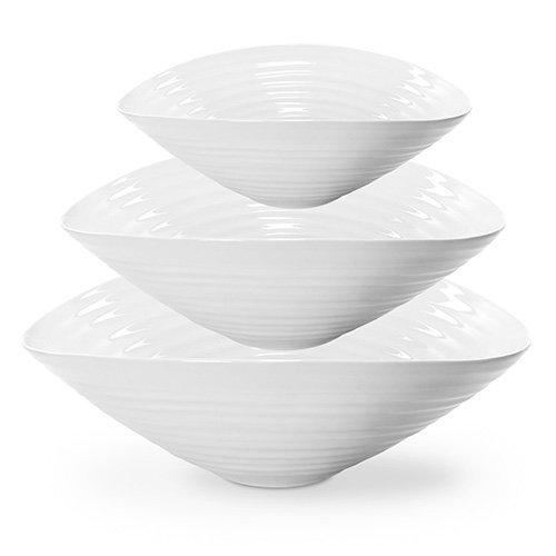 Sophie Conran Salad Bowl Set Of 3 White