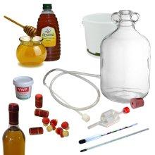 Traditional Mead Honey Wine Making Kit Full Starter 6 Bottles 4.5L Homebrew Set
