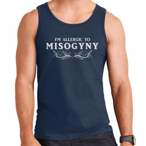 Anti Men Im Allergic To Misogyny Men's Vest