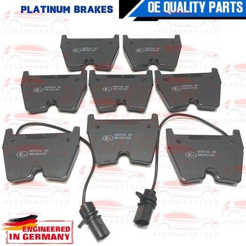 FOR AUDI RS4 RS5 R8 FSI SPYDER QUATTRO 4.2 5.2 FRONT PLATINUM BRAKE PADS SET NEW