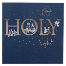 WHSmith Premium Star Of Wonder 2 Designs Charity Christmas Cards Pack of 12