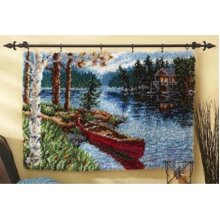 Canoe Rug Latch Hooking Kit (102x69cm)