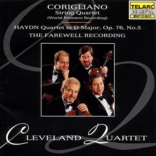 Joseph Haydn - Corigliano - String Quartet; Haydn - String Quartet, Op 76, No 5 [CD]