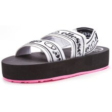 Ellesse Giglio Slip On Platform Strap On Pool Beach Sandals in White & Black 610214 [UK 3 / EU 35.5 / US 5]