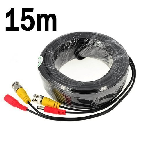 40M BNC Cable CCTV Data Video/&DC Power Lead Security Camera DVR Recorder Wire UK