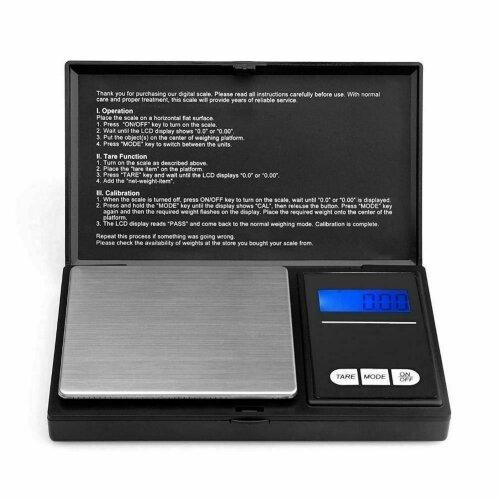 0.01G - 100G BALANCE DIGITAL MINI SCALE SMALL POCKET WEIGHT KITCHEN JEWELLERY