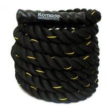 Komodo Battle Rope Power Training 9M/38mm Battling Sport Exercise Fitness Gym