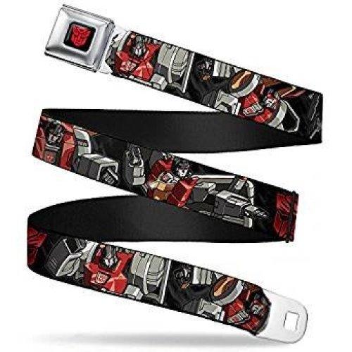 Seatbelt Belt - Transfomers - V.14 Adj 24-38' Mesh New tfa-wtf032