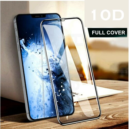 10D Full Coverage Tempered Glass for iPhone 12 Pro Max - Premium Quality