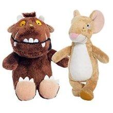 Gruffalo and Gruffalo Mouse 6 Inch Plush Toy Twin Pack
