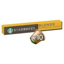 STARBUCKS by NESPRESSO Blonde Espresso Roast Coffee Pods