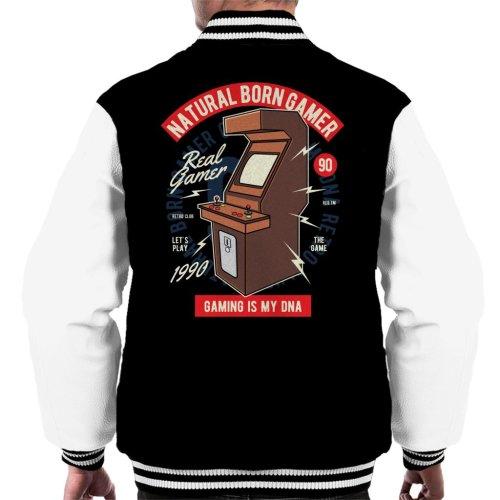 Natural Born Gamer Men's Varsity Jacket