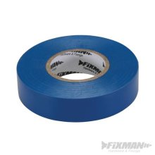 Fixman Insulation Tape 19mm x 33m Blue - Insulation Tape x 33m 19mm Blue 187539 -  insulation tape x 33m 19mm blue fixman 187539 electrical