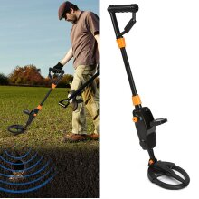 Metal Detector LCD Gold Treasure Coin Hunter Sensitive Ground Search Adjustable