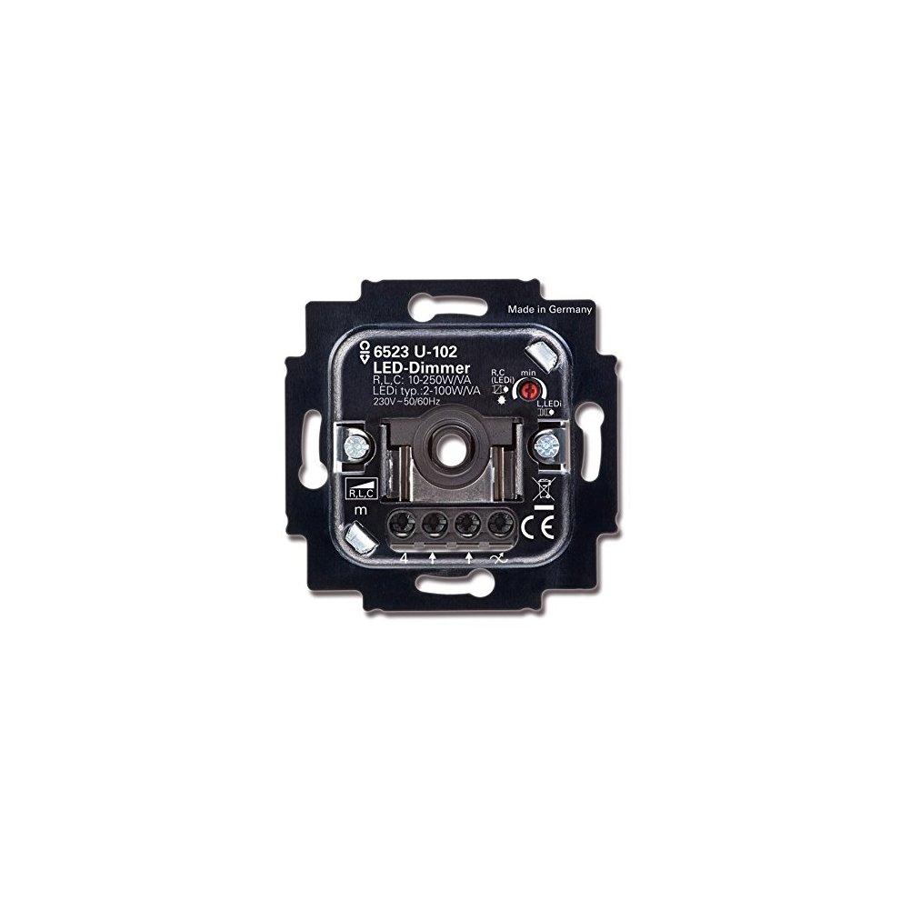 BUSCH-JAEGER 6523 U-102 Busch-Dimmer für LED 2-100W//VA