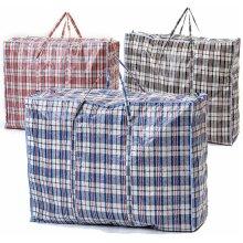 Extra Large Jumbo Laundry Bags Zipped Reusable Strong Shopping Storage Bag